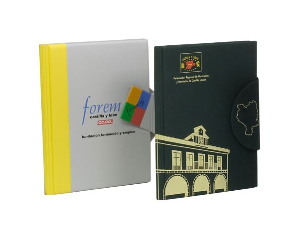 Conference notepad folder in PVC