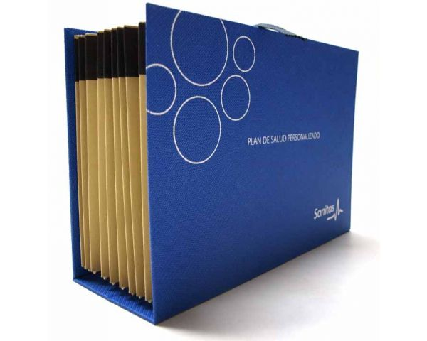Accordion style document folder - 1