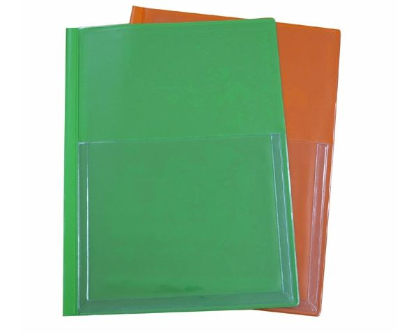 Document covers with an expanding pouch