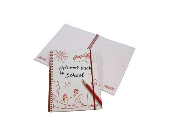 Paper over board notepad