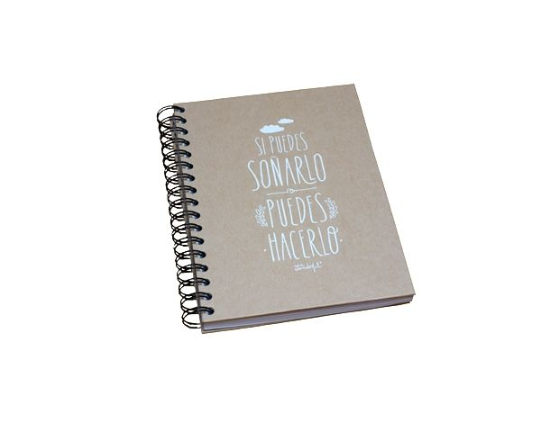 Kraft paper notebook - 1