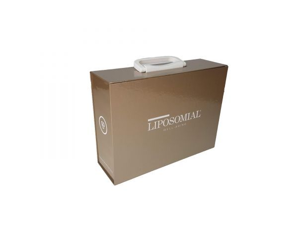 Sample box for cosmetic products